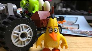 乐高趁《愤怒的小鸟》电影上映推玩具套装