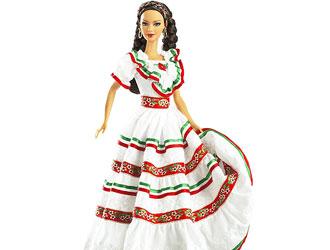 美泰发布新款墨西哥芭比娃娃恐再引争议
