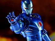 万代SHF钢铁侠MK3蓝色隐形版本模型来袭