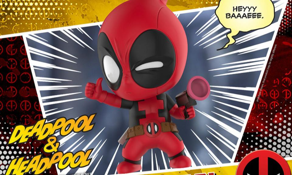 Hot Toys COSB483-486【死侍】Deadpool Cosbaby (S) Bobble-Head Series