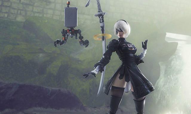 BRING ARTS《尼尔:自动人形》 2B & 机械生命体 6吋可动人偶