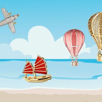 浑身上下散发着旅行感,戴着Travel Charms去放飞自我吧!