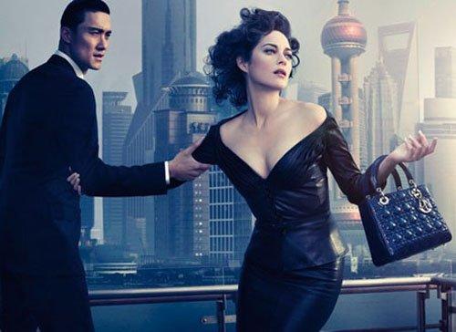 Lady Dior 手袋最新广告取景上海