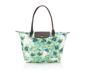 Longchamp(珑骧)推出2012春夏兰花手袋