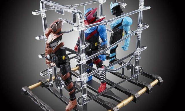 万代《假面骑士Build》变身框架