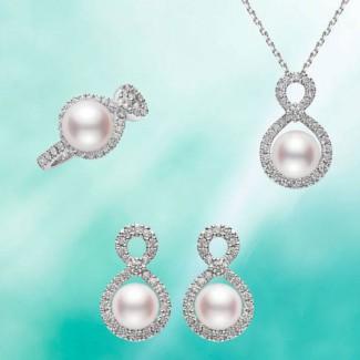 """以数字""""8""""为灵感,Ruyi珍珠珠宝予你幸福与美好"""