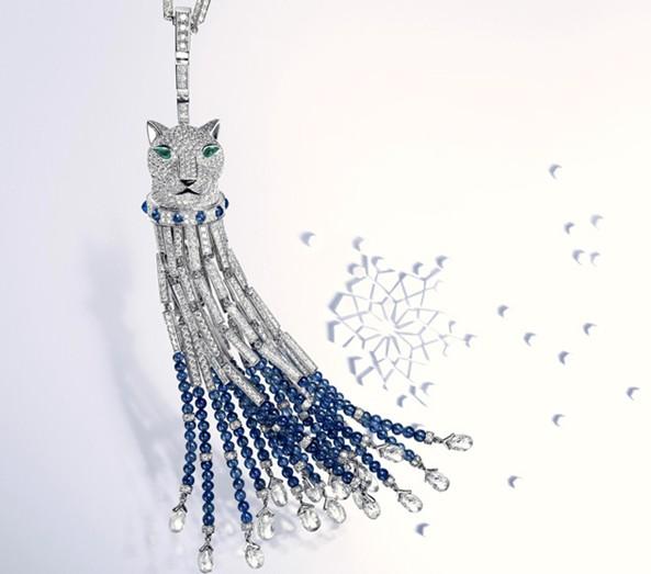 Cartier(卡地亚)冬季精选珠宝作品集