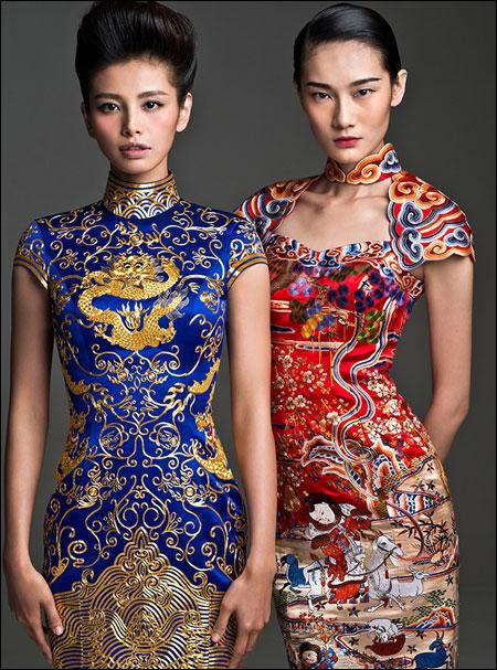 中国顶级奢侈品牌 NE·TIGER 发布2013华服大片