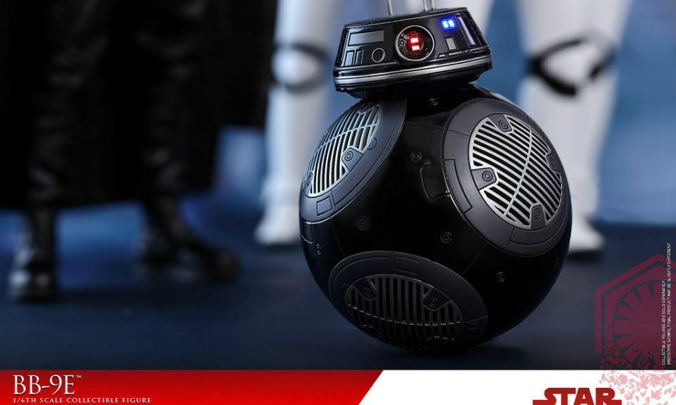 Hot Toys  《星球大战:最后的绝地武士》1/6 比例 BB-9E