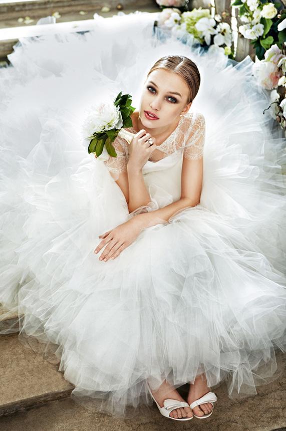 奢华的婚礼的婚纱特辑