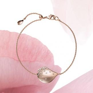 Mikimoto Les Pétales de Ginza,用粉红金和美钻打造落樱之美