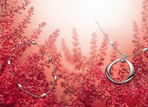 欧米茄情人节水滴美钻珠宝