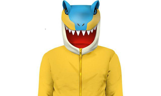 《怪物猎人》雄火龙/轰龙 造型连帽外套