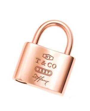 蒂芙尼挂锁项链 锁住你的幸福