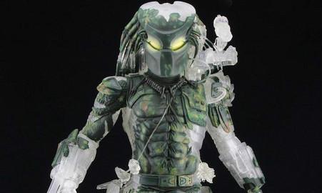 NECA Predator 系列【30 周年纪念:丛林恶魔铁血战士】Jungle Demon 1/4 人偶作品