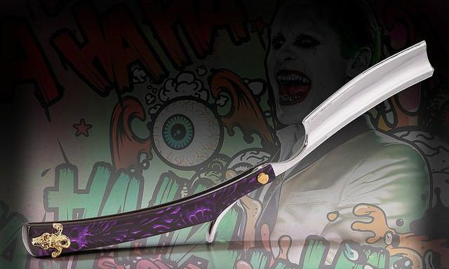 The Noble Collection 《自杀小队》【小丑的剃刀】造型拆信刀