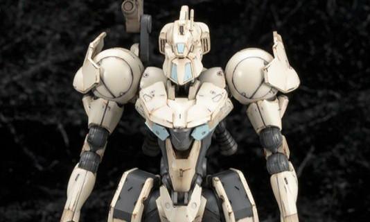 寿屋《Frame Arms 骨装机兵》白虎 1/100 组装模型