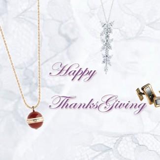 感恩节不知如何说句谢谢,让这些珠宝为你助攻!