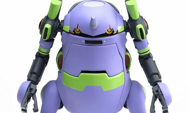 千值练 35机动机器人WeGo《新世纪福音战士》初号机配色版