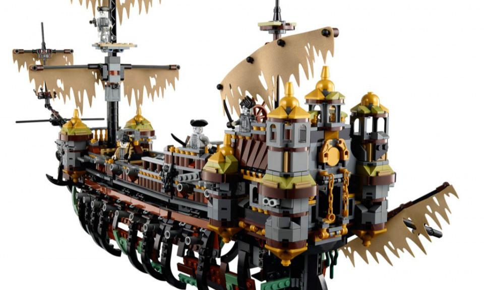 LEGO® 71042《加勒比海盗:死无对证》沉默玛莉号 The Silent Mary