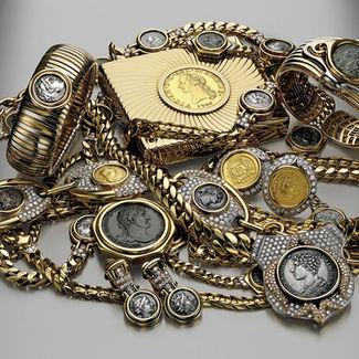 建军节 珠宝与军装的化学反应