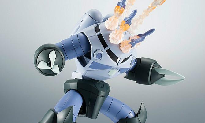 万代 ROBOT魂 《机动战士高达》量产型魔蝎 ver. A.N.I.M.E.