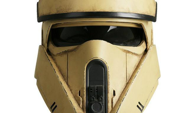 ANOVOS《星球大战外传:侠盗一号》海防风暴兵头盔 1:1 完全电影道具复刻