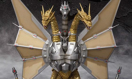 【抽选贩售】万代 S.H.MonsterArts 机械帝王基多拉