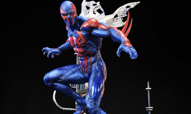 Prime 1 Studio【蜘蛛侠2099】Spider-Man 2099 1/4 全身雕像作品