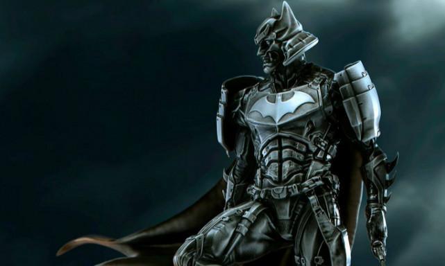 XM Studios × Royal Selangor 武士系列【蝙蝠侠】 1/6 比例全身合金雕像作品