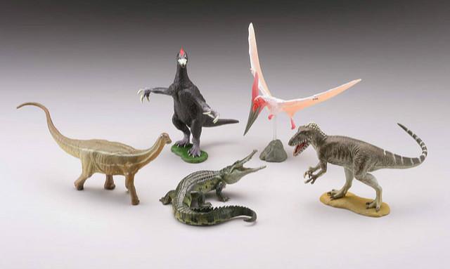 海洋堂《胶囊Q博物馆》恐龙挖掘记系列扭蛋「日本的恐龙篇章」