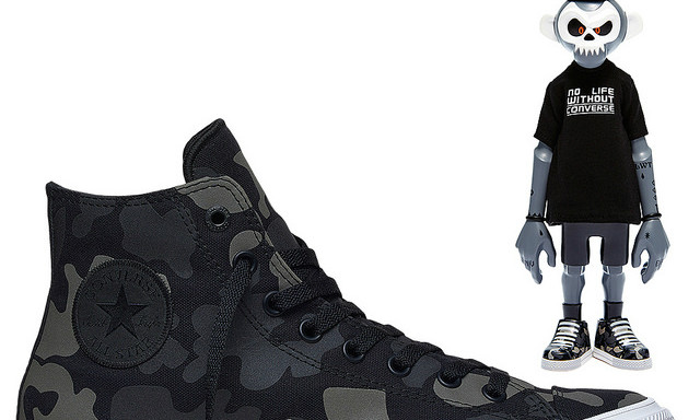 Converse × Coolrain 联名鞋款 将采用豪华包装同捆玩偶