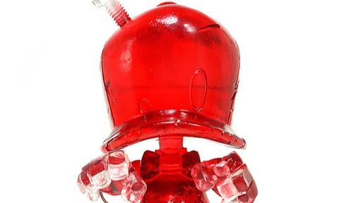 SHON SIDE – CAP DUCK 系列【透明红。丧尸鸭】STGCC 限定版 Zombie Red Cap
