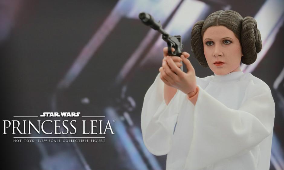 Hot Toys 星球大战:四部曲 曙光乍现【莉亚公主】1/6 Star Wars Princess Leia