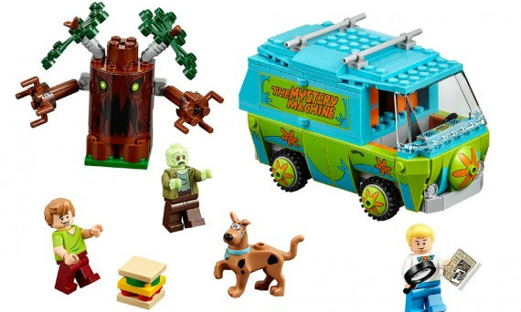 LEGO Scooby-Doo 史努比系列盒装
