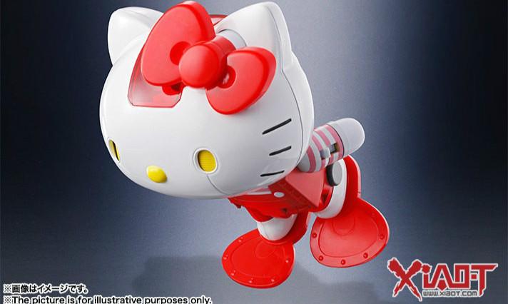 超合金 Hello Kitty 红衣配色