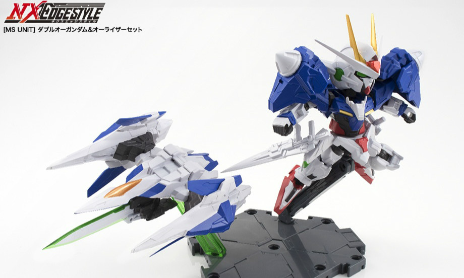万代 NX EDGESTYLE OO Gundam & O Raiser Set