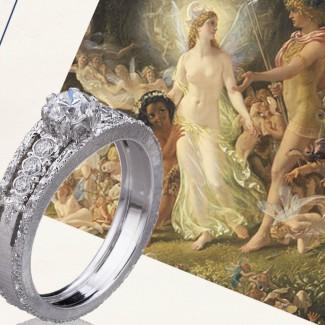"""这样的订婚戒指,哪个女人会说""""不""""呢?"""
