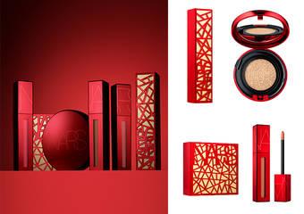 NARS - 2019新春限量霓光炫红彩妆 东方经典剪纸艺术 X 西方前卫LUCKY PINK,这个新年绝对'红'运当头 一枝独秀!