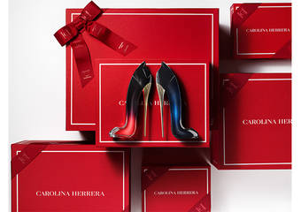 "CAROLINA HERRERA - 最懂送礼艺术的CAROLINA HERRERA诚献,""GoodGirl秘密女性淡香精白金耶诞献礼(礼盒组)"""