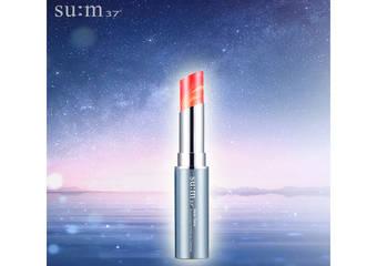 """su:m37° - 绝美梦幻的大理石双色唇膏,给你最滋润的美唇""""吻我吧水润大理石炫纹唇膏""""限量发售"""