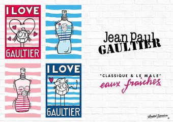 Jean Paul Gaultier - 2018 高堤耶夏季限定– 安德列.萨拉华联名男女香氛