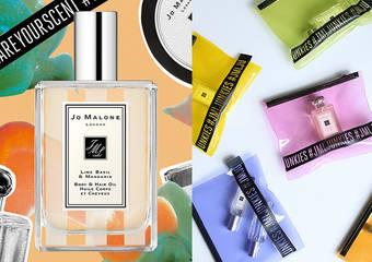 "JO MALONE - 我的香氛我作主,香氛色彩你定义 全新""青柠、罗勒与柑橘身体&护发油""限量上市"