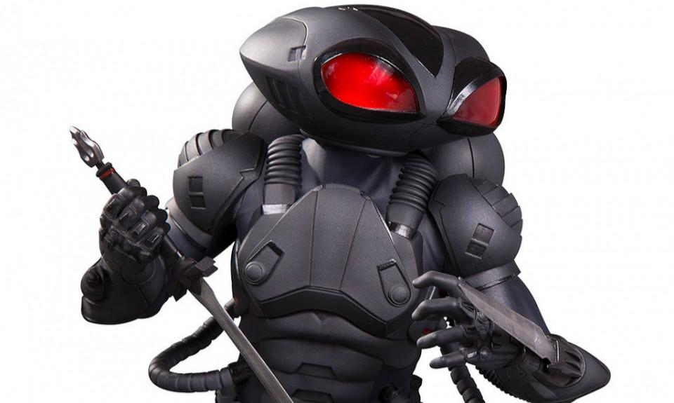 DC Collectibles《海王》黑蝠鲼 Black Manta 全身雕像作品