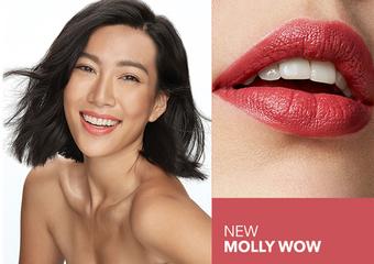 """Bobbi Brown - Molly WOW! 台湾女孩闪耀国际 Bobbi Brown X莫莉Molly 推出限量联名""""迷恋轻吻唇膏"""""""