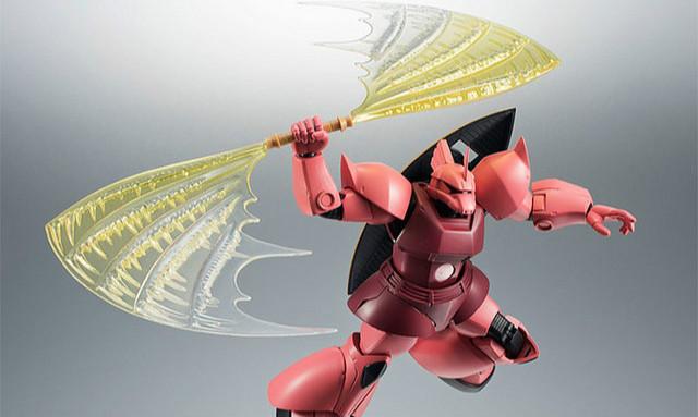 万代 ROBOT魂《机动战士高达》夏亚专用指挥官用型勇士 ver. A.N.I.M.E.