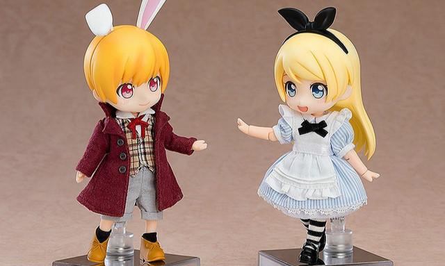 GSC 黏土娃 原创角色「爱丽丝」系列『爱丽丝』『白兔』