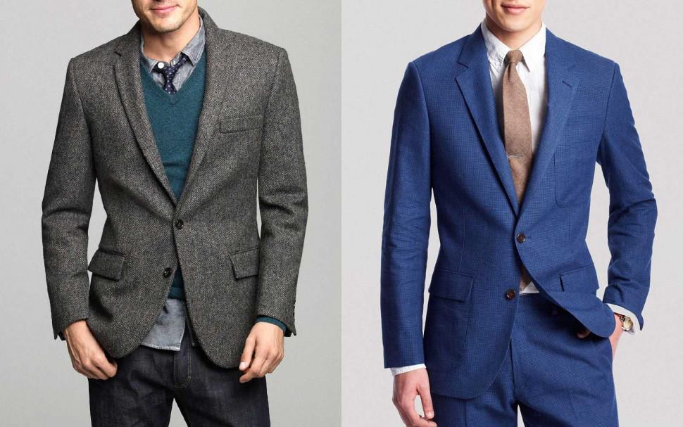 Suit和Jacket都是西装,他们间究竟有什么不同