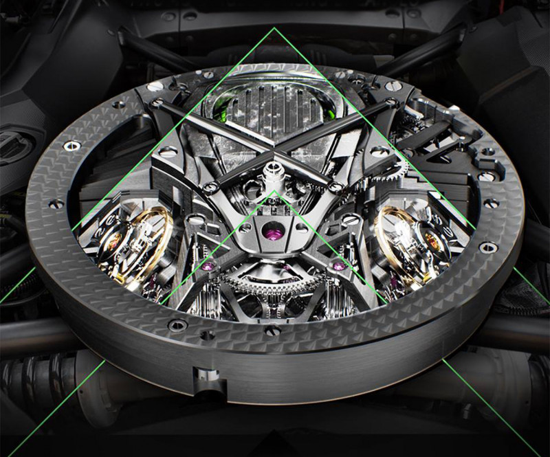超级比一比 手表机械机芯 vs 汽车引擎