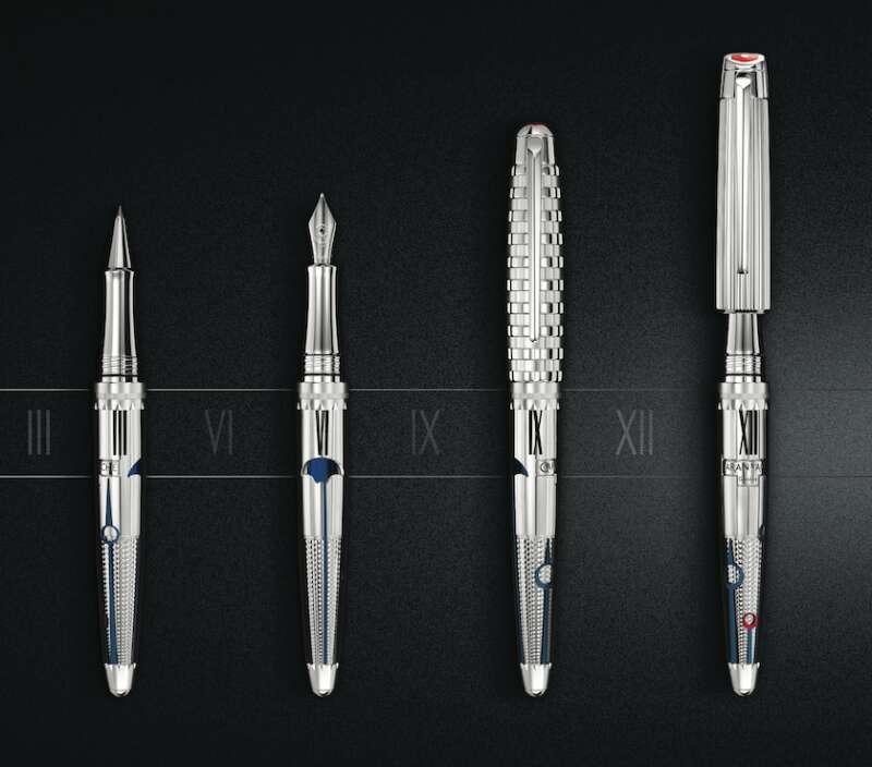 换个笔盖就像是另一支笔! CARAN D'ACHE 1010时间守护者限定版
